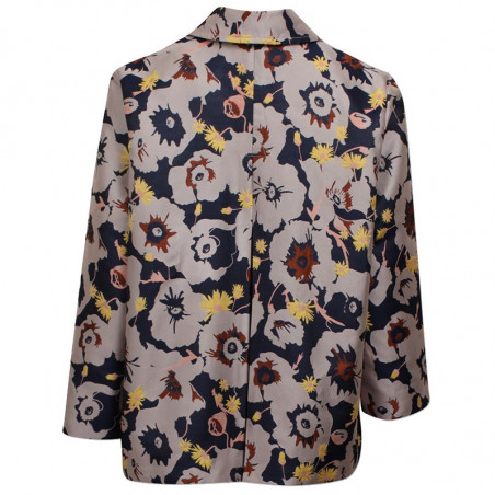 Six Ames Jakke, Githa, Blooming Jaquard six ames tøj bagside
