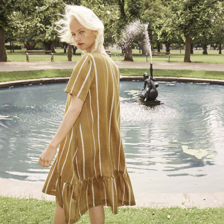 Six Ames Kjole, Helena, Japanese Summer Stripes six ames tøj model