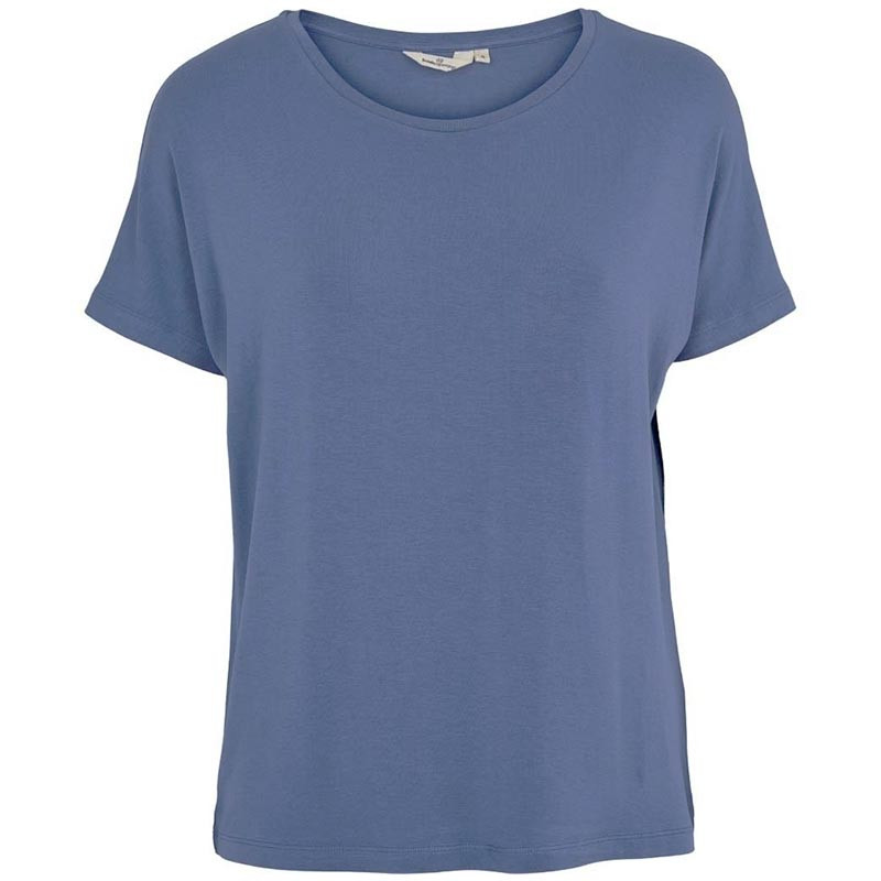 Image of Basic Apparel T-shirt, Joline, Blue Horizon