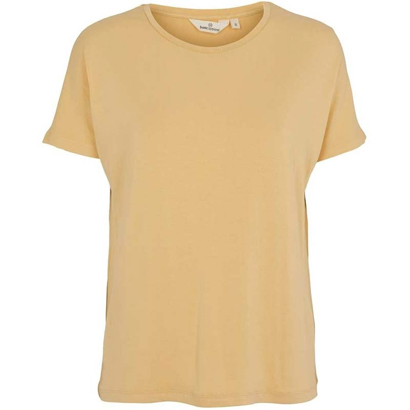 Image of Basic Apparel T-shirt, Joline, Straw