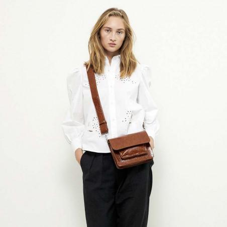 Hvisk Taske Cayman Pocket, Chocolate hvisk cayman taske hvisk tasker model