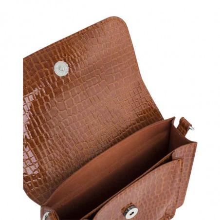 Hvisk Taske Cayman Pocket, Chocolate hvisk cayman taske hvisk tasker åben