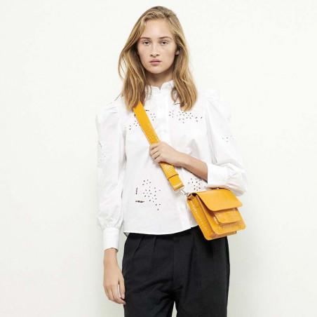 Hvisk Taske Cayman Pocket, Orange hvisk cayman taske hvisk tasker model