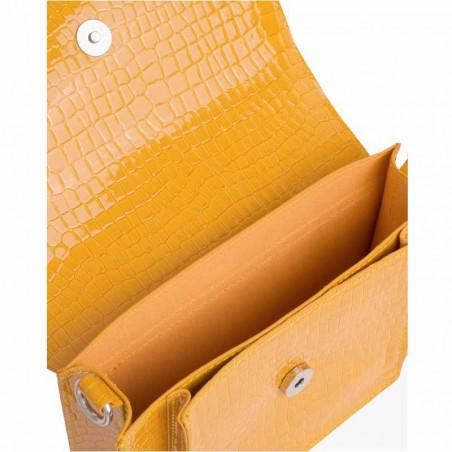 Hvisk Taske Cayman Pocket, Orange hvisk cayman taske hvisk tasker detalje