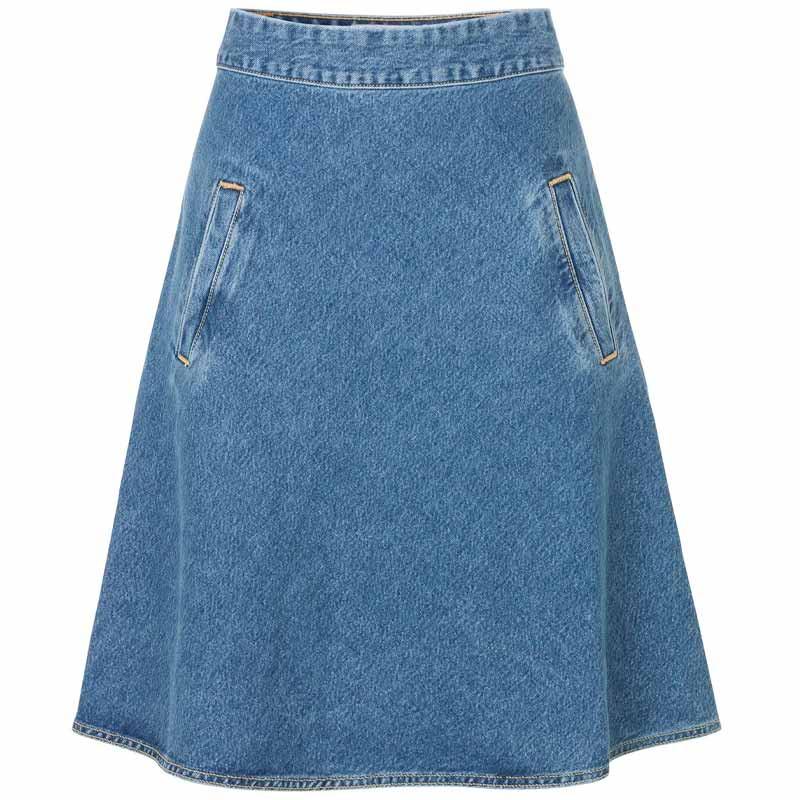 Mads nørgaard nederdel, stelly, worn stone fra mads nørgaard fra superlove