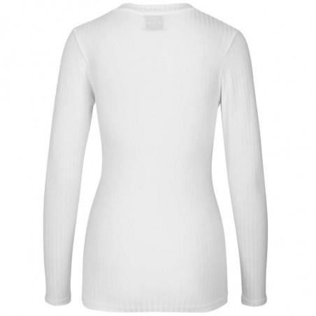 Mads Nørgaard T-shirt dame, Tuba, Hvid Mads Nørgaard bluse Mads Nørgaard bluser mads nørgaard langærmet t-shirt bagside
