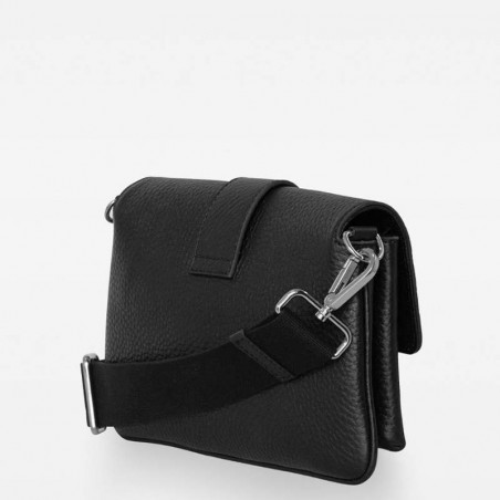Decadent Taske, Gloria Double Bag, Black, decadent copenhagen, decadent belt bag, tasker decadent bagside