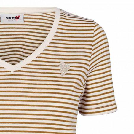 Mos Mosh T-shirt, Kenia, Bran Mos Mosh T shirt detalje