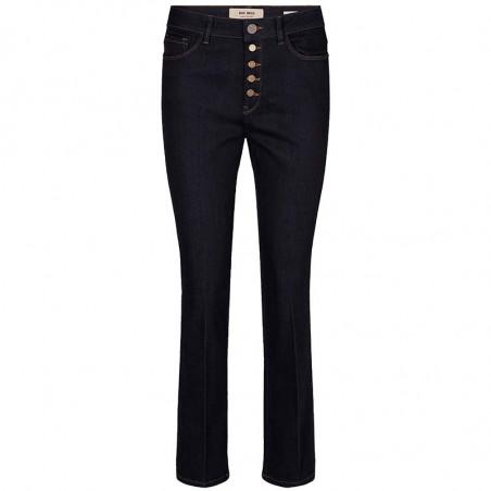Mos Mosh Jeans, Athena Kick, Dark Blue mos mosh bukser