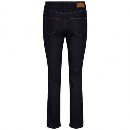 Mos Mosh Jeans, Athena Kick, Dark Blue mos mosh bukser bagside