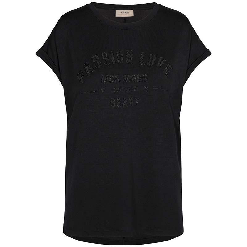 Mos Mosh T-shirt, Dion, Black mos mosh t shirt
