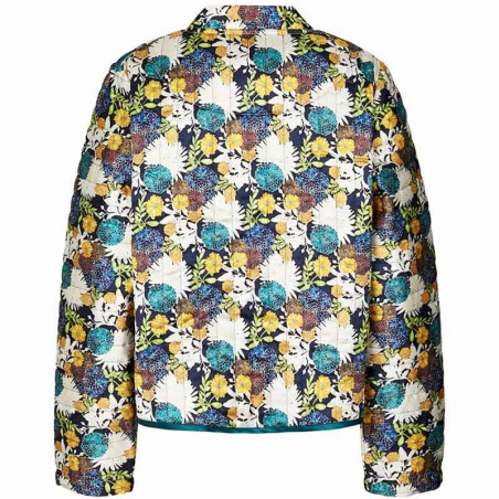 Lollys Laundry Jakke, Emilia, Flower Print Lollys Laundry cardigan bagside