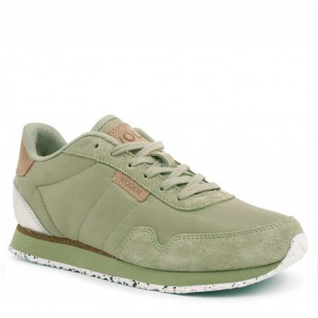 Woden Sneakers dame, Nora II, Dusty Olive woden sko dame side