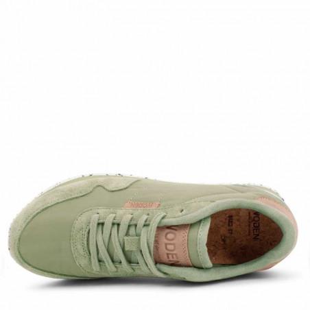 Woden Sneakers dame, Nora II, Dusty Olive woden sko dame top