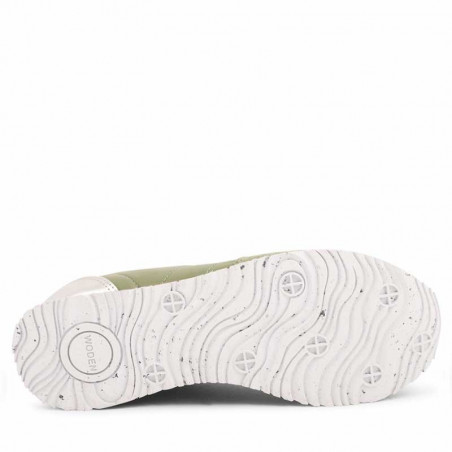 Woden Sneakers dame, Nora II, Dusty Olive woden sko dame bund