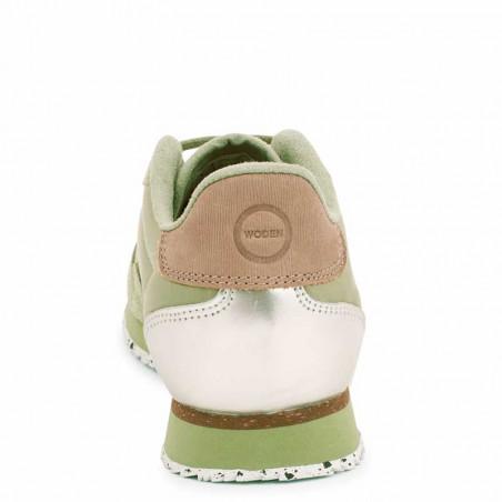 Woden Sneakers dame, Nora II, Dusty Olive woden sko dame bagside