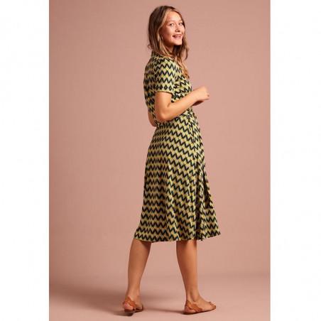 King Louie Kjole, Sheeva Namaste, Spar Green king louie kjoler king louie tøj kjole king louie kinglouie kjole bagside