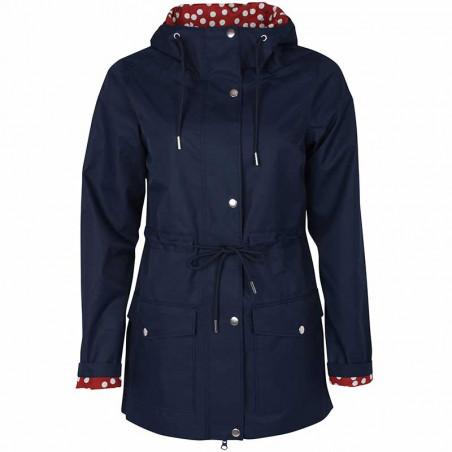 Danefæ Regnjakke, Lotta, Navy danefæ jakke dame danefæ jakker danefæ regnfrakke