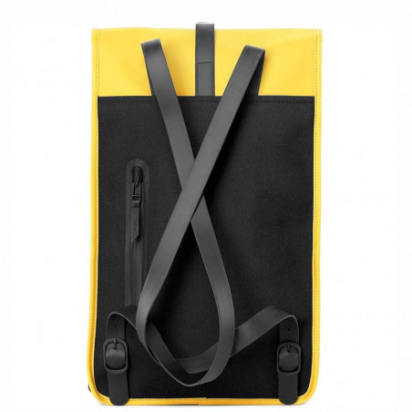 Rains Rygsæk, Backpack Mini, Yellow rains taske rains backpack bagside