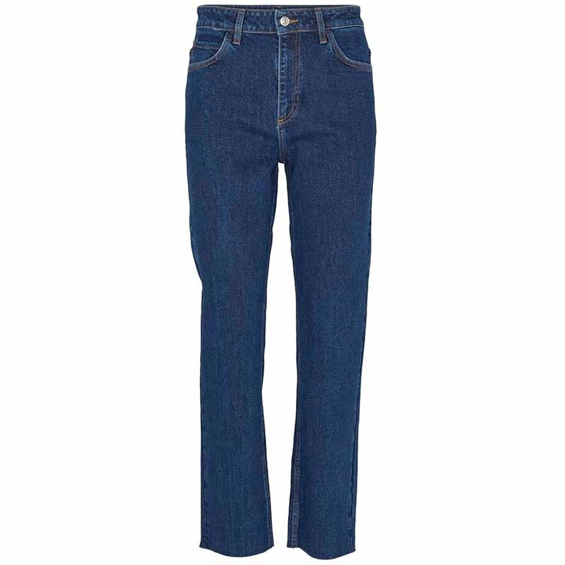 Image of   Basic Apparel Jeans, Emmy, Darker Denim