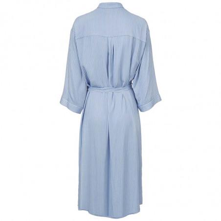 Modström Kjole, Bea, Twill Stripe modstrøm tøj modstrøm kjole bagside
