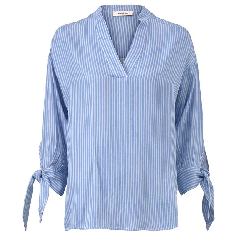 Modström Skjorte, Bea, Twill Stripe modstrøm tøj