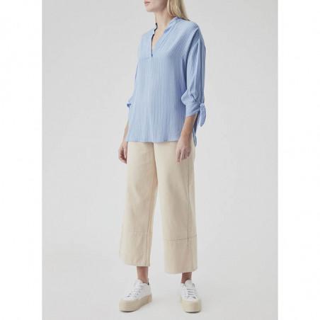 Modström Skjorte, Bea, Twill Stripe modstrøm tøj front