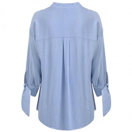 Modström Skjorte, Bea, Twill Stripe modstrøm tøj bagside