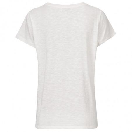 Modström T-shirt, Bridget, Off White bagside