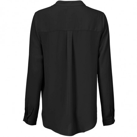 Modström Skjorte, Billie, Black bagside