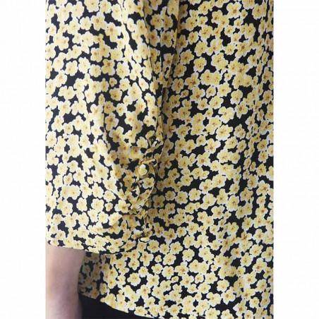 Modström Skjorte, Berta, Desert Flower detalje