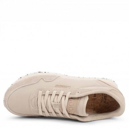 Woden Sneakers dame, Nora II, Clouds woden sko dame liggende