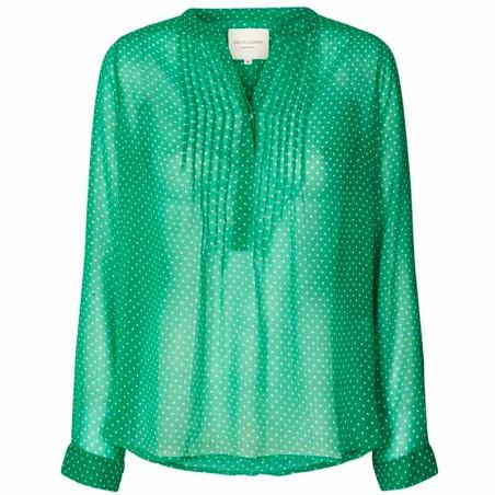 Lollys Laundry Skjorte, Helena, Green