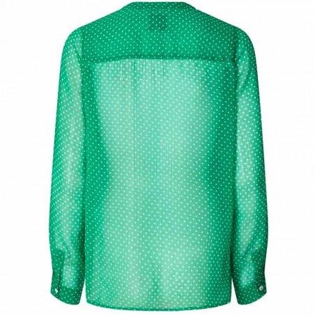 Lollys Laundry Skjorte, Helena, Green bagside