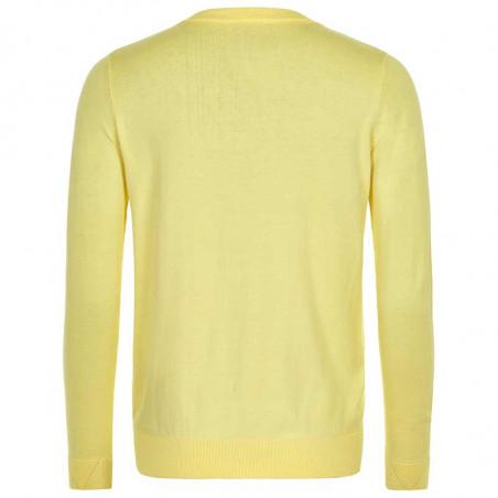 Nümph Cardigan, Nualani, Yellow Iris - Numph tøj - Numph cardigan
