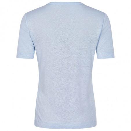 And Less T-shirt, Alnoe, Zen Blue bagside
