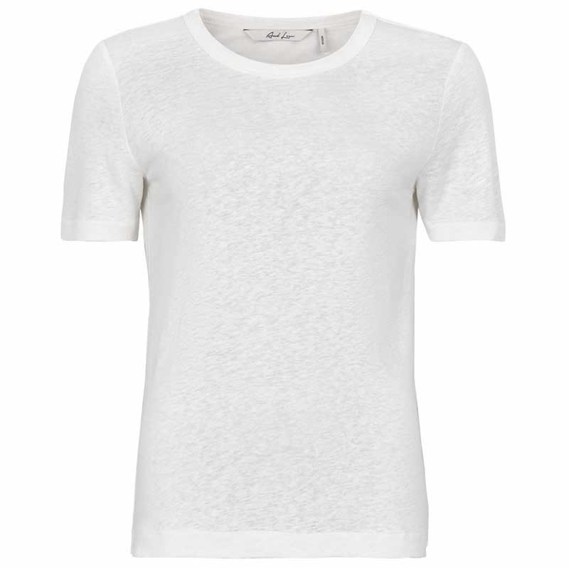 Image of   And Less T-shirt, Alnoe, Bril. White