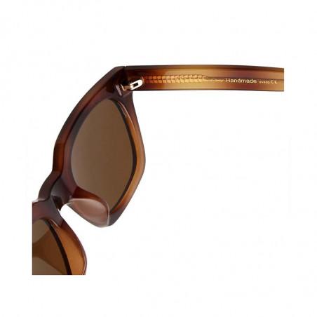 A Kjærbede Solbriller, Nancy, Demi Brown - Detalje