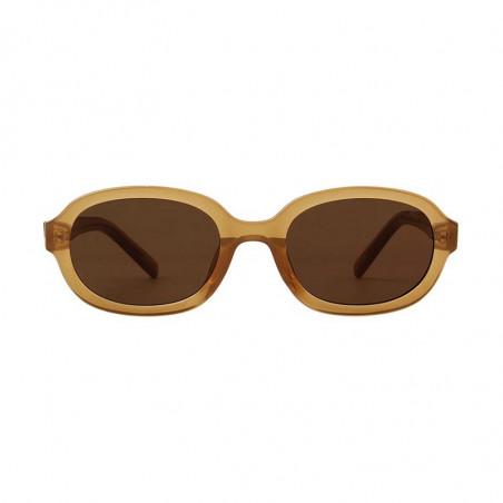 A Kjærbede Solbriller, Bob, Light Brown Transparent