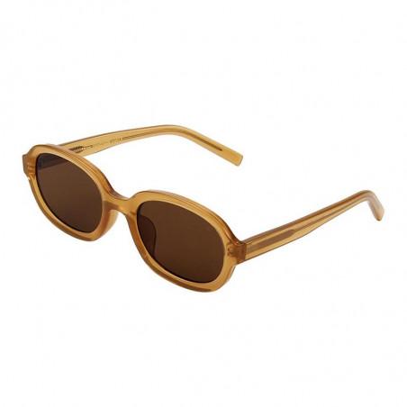 A Kjærbede Solbriller, Bob, Light Brown Transparent - Side