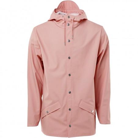 Rains Regnjakke dame, Kort, Coral rains jakke rains jacket