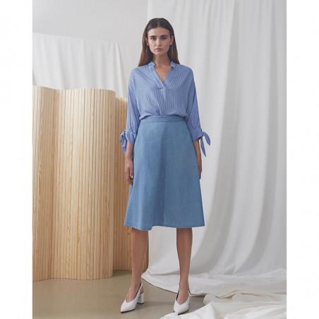 Modström Skjorte, Bea, Twill Stripe model 2