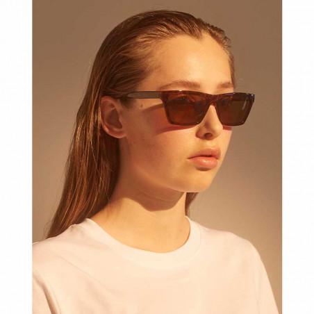 A Kjærbede Solbriller, Clay, Demi Tortoise , solbriller dame