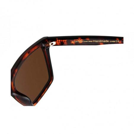 A Kjærbede Solbriller, Clay, Demi Tortoise , solbriller dame  - Detalje