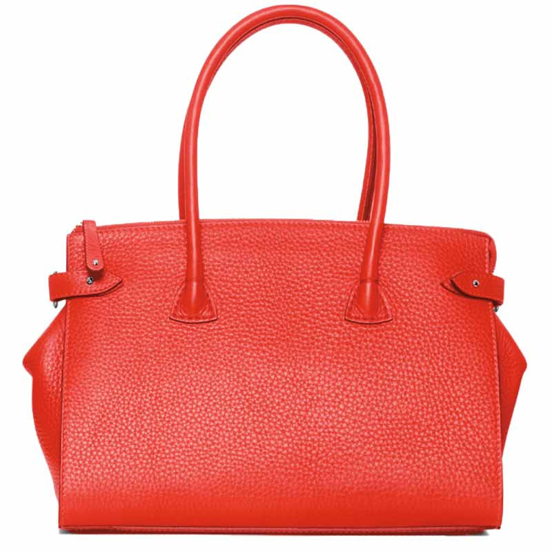 Image of   Decadent Taske, Scarlet Small Shopper, Red