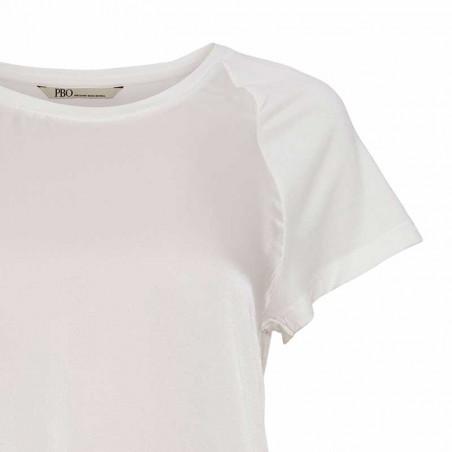 PBO Top, Kassi, Storm White pbo bluse detalje
