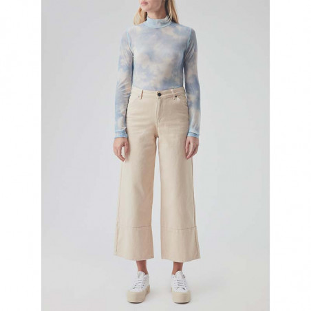 Modström Bukser, Bello, Light Sand modström jeans model front