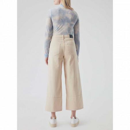 Modström Bukser, Bello, Light Sand modström jeans model bagside