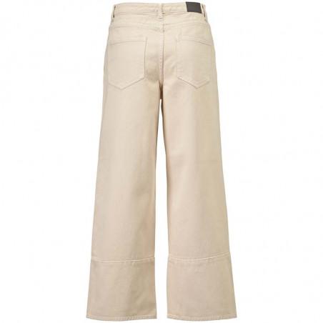 Modström Bukser, Bello, Light Sand modström jeans bagside