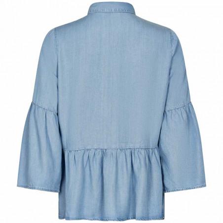 Nümph Bluse, Nuahna, Light Blue Denim  Nümph Tøj - Bagside
